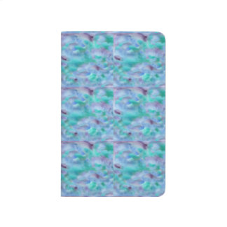 Green Purple Watercolor Pocket Journal