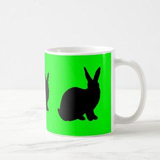 Green Rabbit Mug