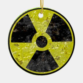 Green Radiation Christmas Ornament