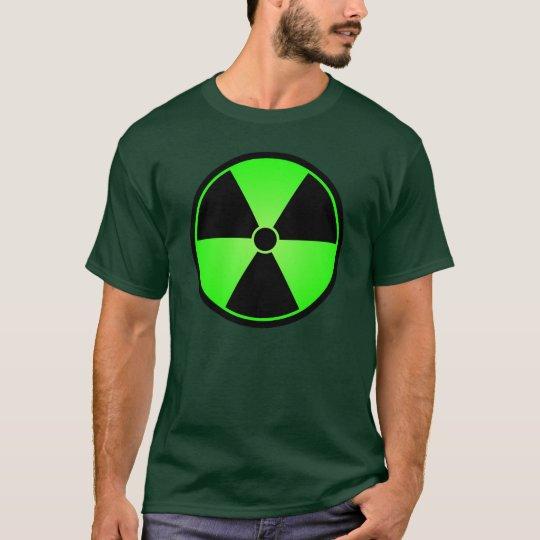 Green Radiation Symbol T-Shirt