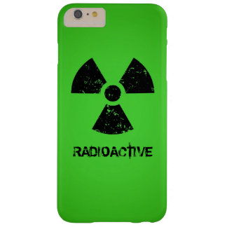 Green Radioactive Symbol Barely There iPhone 6 Plus Case