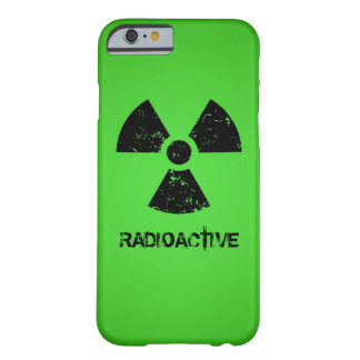 Green Radioactive Symbol Barely There iPhone 6 Case
