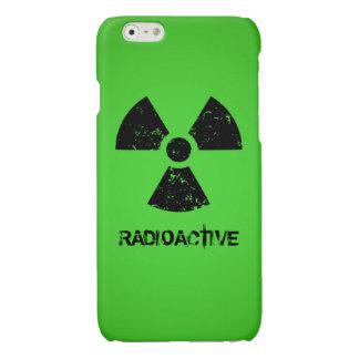 Green Radioactive Symbol Glossy iPhone 6 Case
