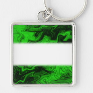 Green Random Abstract. Key Ring