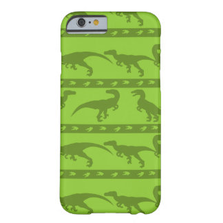 Green Raptor Pattern Barely There iPhone 6 Case