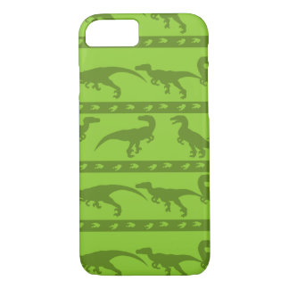 Green Raptor Pattern iPhone 7 Case