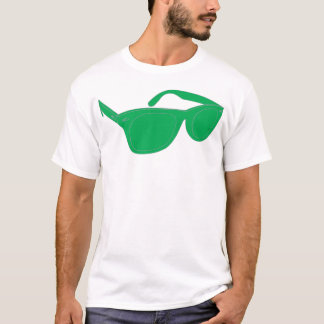 Green Ray Bans T-Shirt