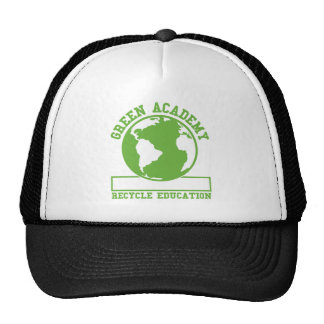 Green Recycle Academy Cap