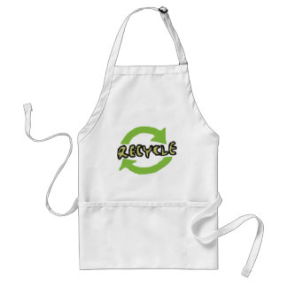 Green Recycle Apron