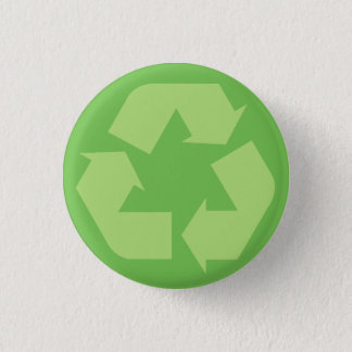 Green Recycle Button