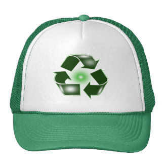 Green Recycle Logo Hat