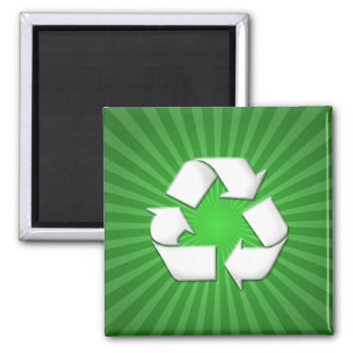 Green Recycle Magnet 001