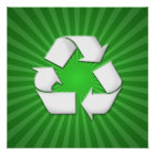Green Recycle Poster 001