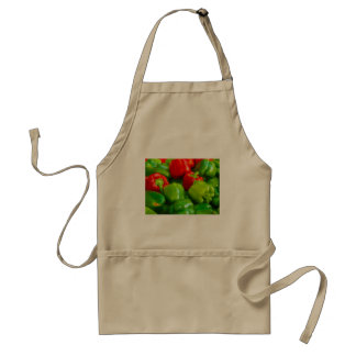 Green Red Bell Peppers City Farmer's Market KC Adult Apron
