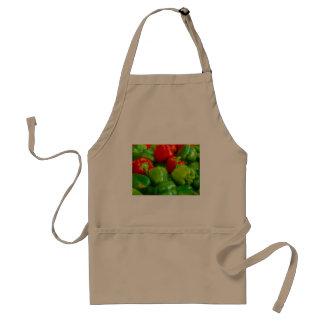 Green Red Bell Peppers City Farmer's Market KC Standard Apron