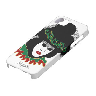 green red mask barely there iPhone 5 case