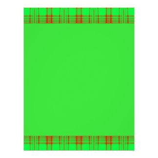 green red pattern 21.5 cm x 28 cm flyer