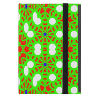 Green red pattern cover for iPad mini