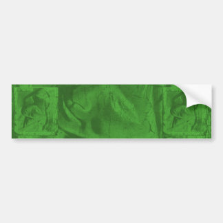 Green Reflections I Bumper Sticker
