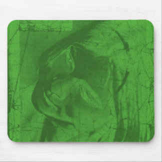 Green Reflections Mousepad Mouse Pads