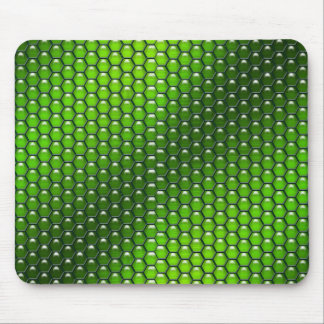 Green Reptile Mouse Pad