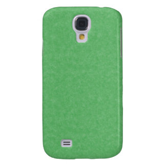 Green Retro Cardboard Colorful Texture Pattern Galaxy S4 Cases