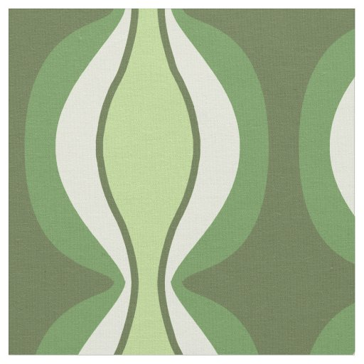 Green Retro Mission Fabric