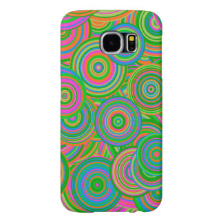 Green Retro Pattern Case Samsung Galaxy S6 Cases