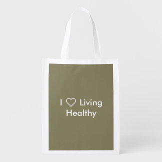 Green Reusable Tote