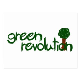 Green Revolution Postcard