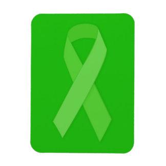 GREEN RIBBON CAUSES Organ & Tissue Donors, Mental Rectangular Magnets