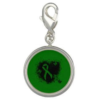 Green Ribbon Grunge