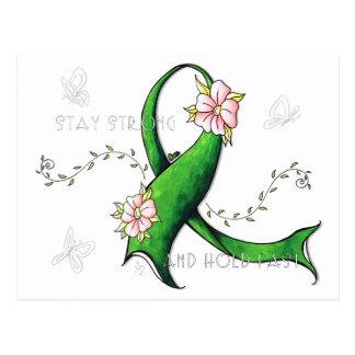 Green Ribbon Lyme Disease Postcard