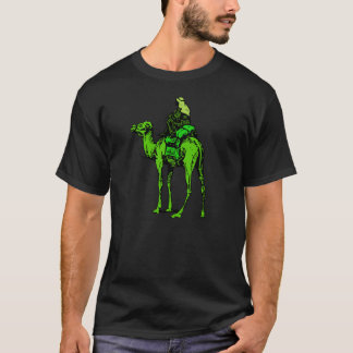 Green Rider The silk road logo T-shirt
