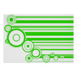 Green Rings & Stripes