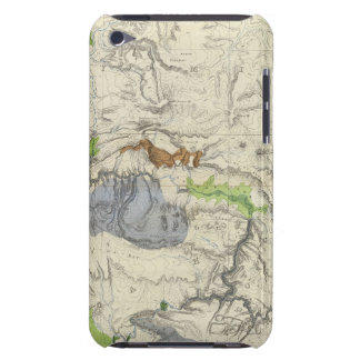 Green River from the Union Pacific Rail Road Map iPod Touch Case-Mate Case
