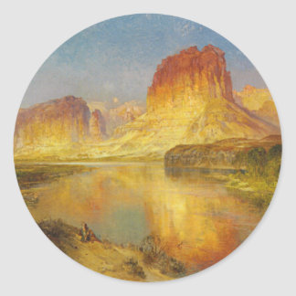 Green River of Wyoming - 1878 Classic Round Sticker