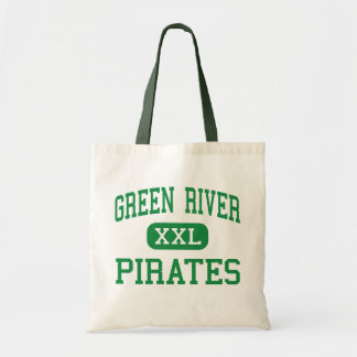 Green River - Pirates - High - Green River Utah Budget Tote Bag