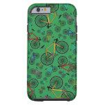 Green road bikes tough iPhone 6 case