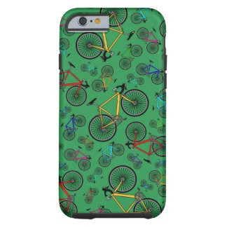 Green road bikes tough iPhone 6 case