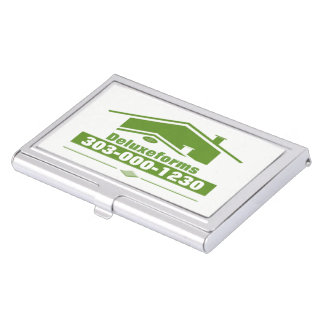 Green Roof Business Card Holder