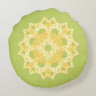 green round cushion