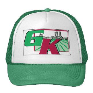 Green Rubber Kennedy Ag Trucker Hat