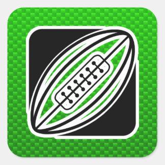Green Rugby Sticker
