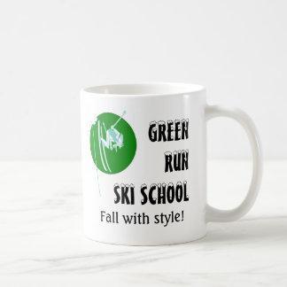Green Run Ski School - Fall with Style mug