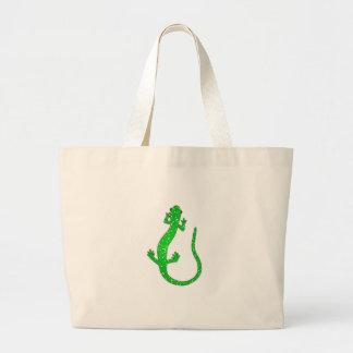 Green Salamander Logo Jumbo Tote Bag