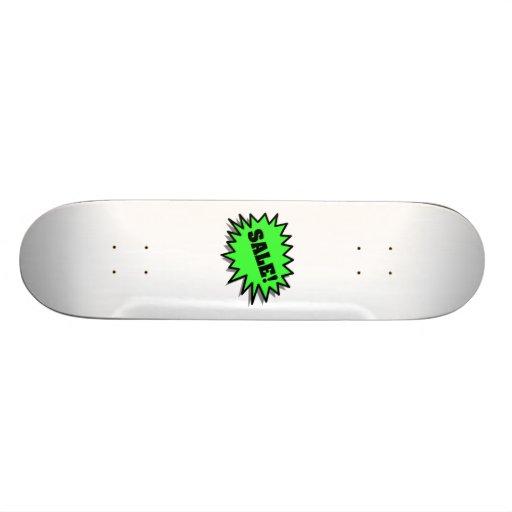 Green Sale Custom Skate Board