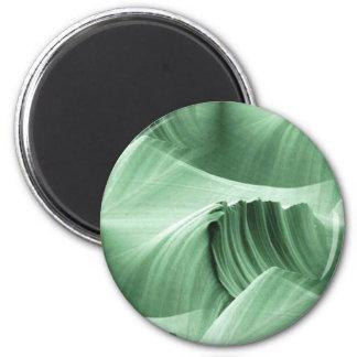green_sandstone_scape refrigerator magnet