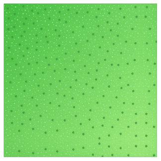 green Santa patricks day shamrock Fabric, Fabric