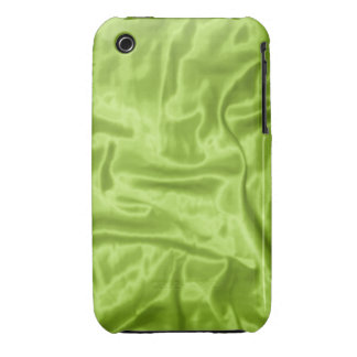 Green Satin-iPhone 3g Phone Case iPhone 3 Covers